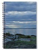Crates By The Sea Spiral Notebook