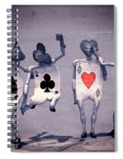 Crazy Aces Spiral Notebook