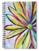 Crazy Daisy Spiral Notebook