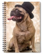Crazy Top Dog Spiral Notebook