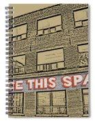 Creative Arts Studio Spiral Notebook