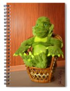 Creature From The Groovy Lagoon Spiral Notebook