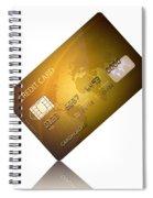 Credit Card Spiral Notebook