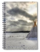 Cree Tepee Spiral Notebook