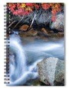 Creek At North Lake Ca_1 Spiral Notebook