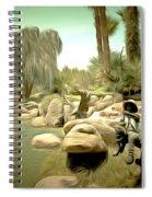 Creek At Jackalope Ranch Palm Springs Spiral Notebook