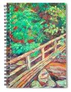 Creek Bridge Spiral Notebook