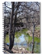 Creek In North Texas Spiral Notebook