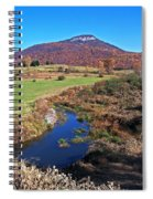 Creek In The Valley Spiral Notebook