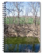 Creek Recovering From Winter Spiral Notebook