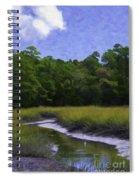 Creekside Fishing Spiral Notebook