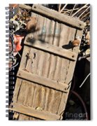 Creeper Picking Spiral Notebook