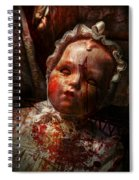 Creepy - Doll - It's Best To Let Them Sleep  Spiral Notebook