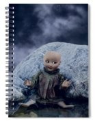 Creepy Doll Spiral Notebook