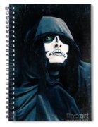 Creepy Skeleton Spiral Notebook