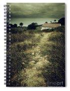 Creepy Trail Spiral Notebook