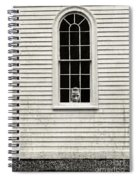 Creepy Victorian Girl Looking Out Window Spiral Notebook