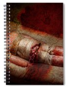 Creepy - Weird - No One Ever Suspected  Spiral Notebook