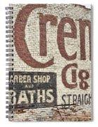 Cremo Cigar Spiral Notebook