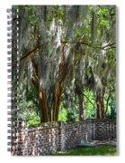 Crepe Myrtles Of Middleton Place Spiral Notebook