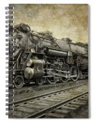 Crescent Limited Locomotive Of 1927 Spiral Notebook