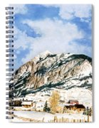 Crested Butte Mountain Spiral Notebook