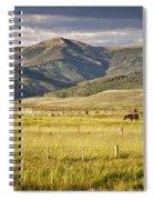 Crested Butte Ranch Spiral Notebook