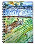 Cricket-day Spiral Notebook
