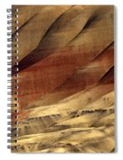 Crimson And Gold Spiral Notebook