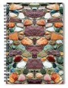 Crimson Field Stone Spiral Notebook
