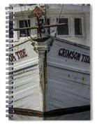 Crimson Tide Headon Spiral Notebook