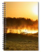 Crisp Spring Morning Spiral Notebook