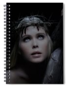 Crista Retrato Spiral Notebook