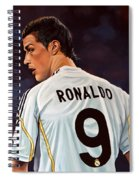 Cristiano Ronaldo Spiral Notebook