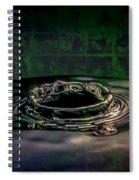 Croc Splash Spiral Notebook