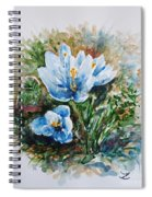 Crocuses Spiral Notebook