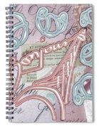 Croissant Spiral Notebook
