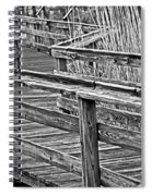 Crooked Path Spiral Notebook