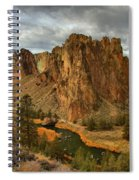 Crooked River Bend Spiral Notebook