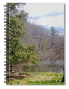Crooked Tree Spiral Notebook