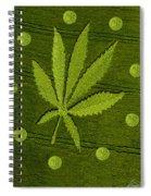 Crop Circles Spiral Notebook