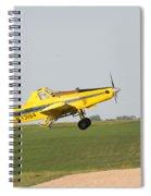 Crop Duster Spiral Notebook
