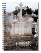 Cross And Angels Spiral Notebook