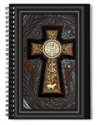 Cross In Leather Spiral Notebook