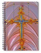Cross Of Church Of Our Lady Spiral Notebook