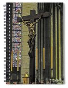 Cross Of Rouen Cathedral Spiral Notebook