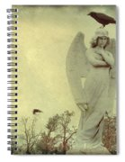 Cross Or Angel Spiral Notebook