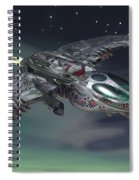 Cross Wing Spiral Notebook