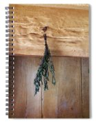Crossbeam With Herbs Drying Spiral Notebook