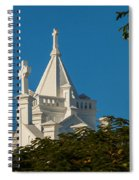 Crosses Above The Trees Spiral Notebook